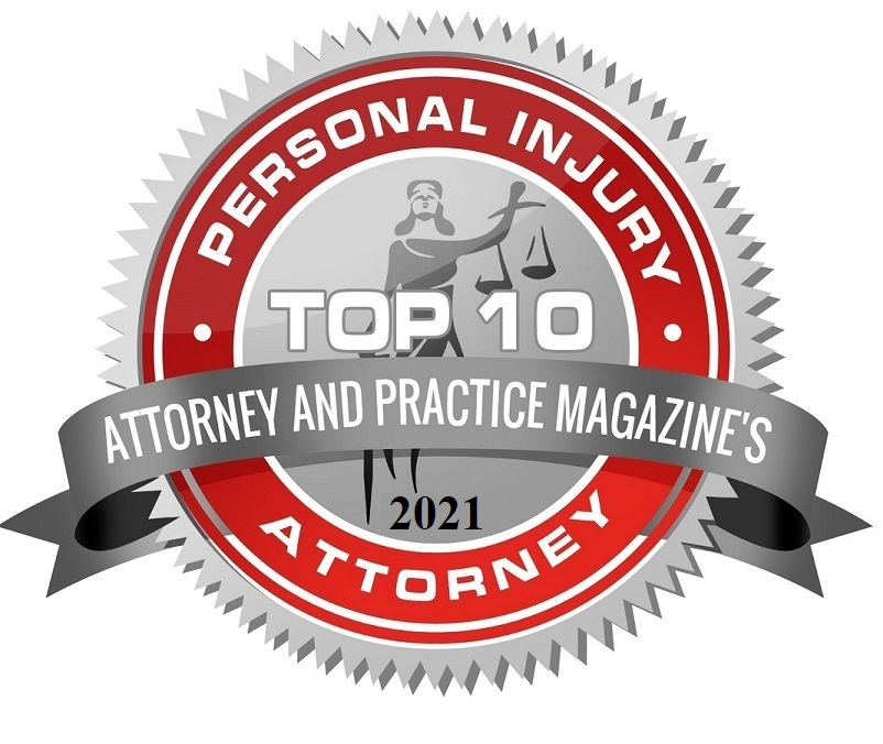 Top 10 Plaintiff's Personal Injury Award 2021